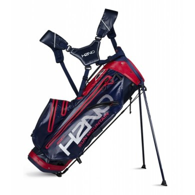 Sun Mountain 2018 H2NO Lite Stand Bag Navy/Red