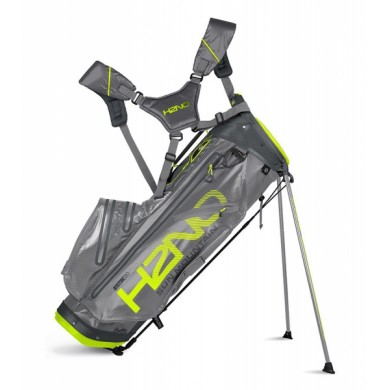 Sun Mountain 2018 H2NO Lite Stand Bag Grey/Gunmetal/Flash