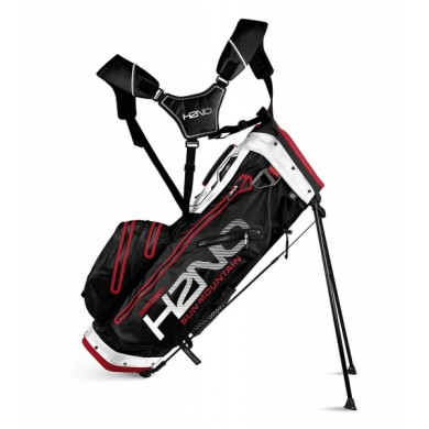 Sun Mountain 2018 H2NO 14-Way Stand Bag Black/White/Red