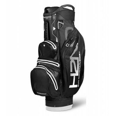 Sun Mountain 2018 H2NO Lite Cart Bag Black/White