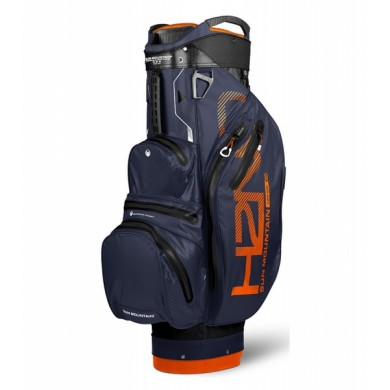 Sun Mountain 2018 H2NO Lite Cart Bag Black/Navy/Orange