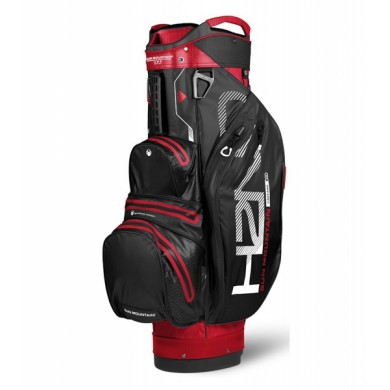 Sun Mountain 2018 H2NO Lite Cart Bag Red/Black/White