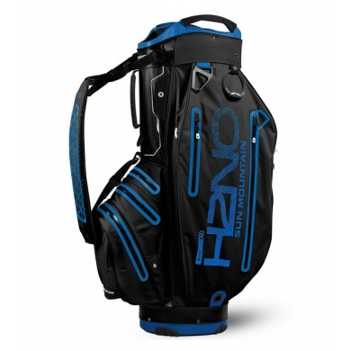 Sun Mountain 2018 H2NO Elite Cart Bag Black/Cobalt