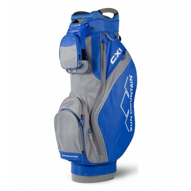 Sun Mountain 2018 CX1 Cart Bag Cobalt/Grey