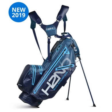 Sun Mountain 2019 H2NO LITE 14-Way Stand bag HYDRO-NAVY-ICE