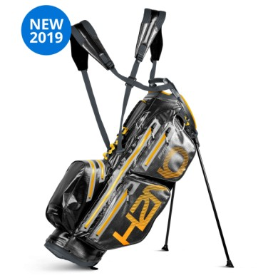 Sun Mountain 2019 H2NO PRO 14-Way Stand bag STD IRON-BLK-SUN