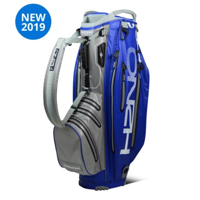 Sun Mountain 2019 H2NO ELITE Cart bag  BLUE-CMNT-WHT