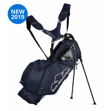 Sun Mountain 2019 Four-5 LS 14-Way Stand Bag  NAVY