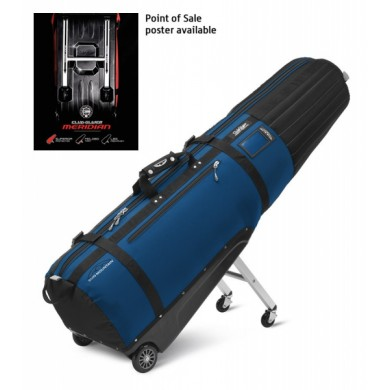 Sun Mountain Travel cover CLUB GLIDER MERIDIAN Black/Cobalt