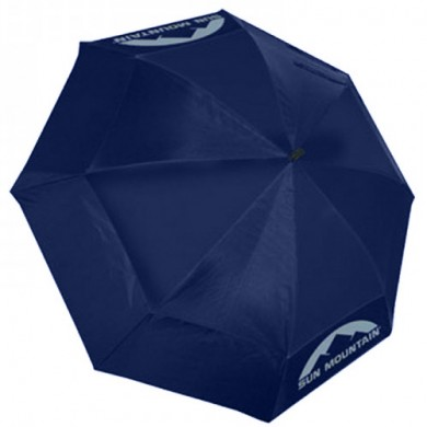 SunMountain Dual Canopy Umbrella Navy