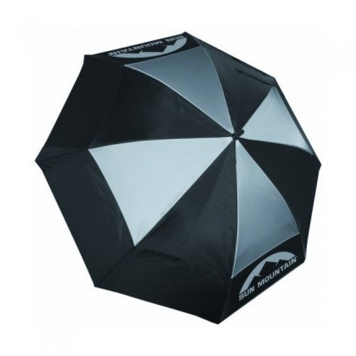 SunMountain Dual Canopy Umbrella Black
