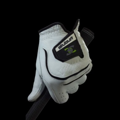 URBAN LEATHER MENS GLOVE White L MLH