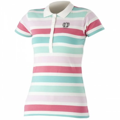 Catm Triko Polo W FRIDA-Red stripe 38