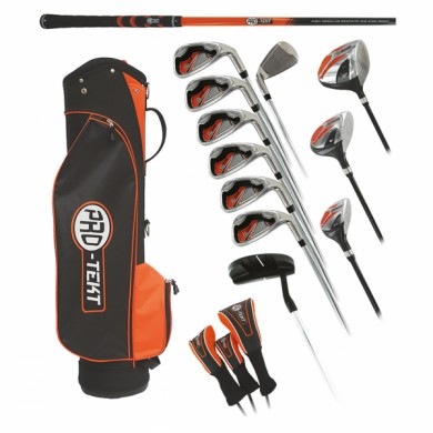 PRO-TEKT BOX SET MENS STEEL CART BAG