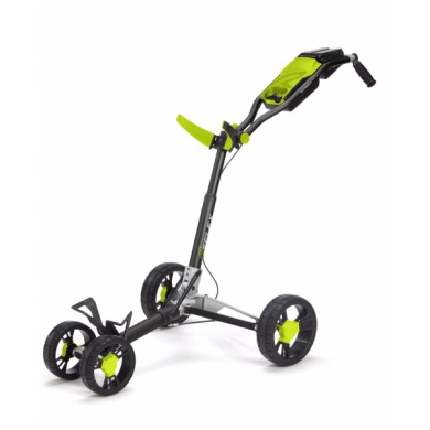 SunMountain REFLEX Cart - 4kolový vozík Black/lime