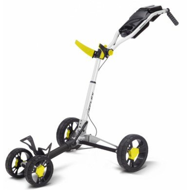 SunMountain REFLEX Cart - 4kolový vozík White/Yellow