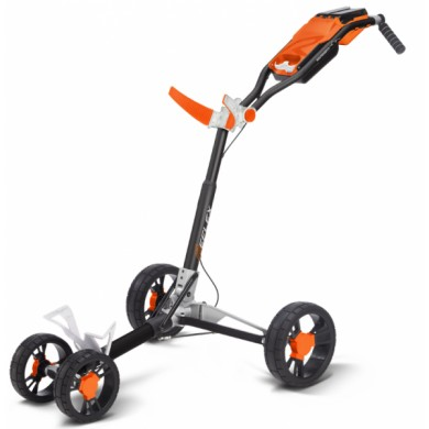 SunMountain REFLEX Cart - 4kolový vozík White/Orange