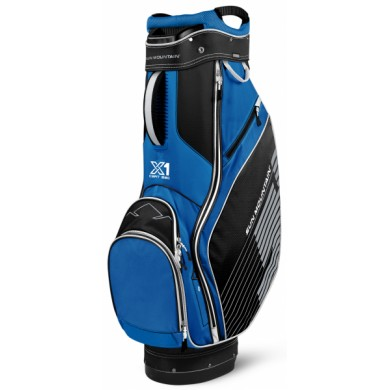 SunMountain X-1 Cart bag black/cobalt