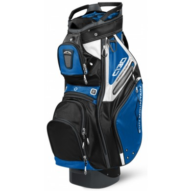 SunMountain C-130 Cart bag cobalt/black