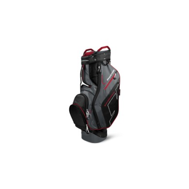 SunMountain Phantom Cart bag black/gunmetal/red