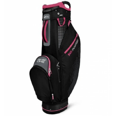 SunMountain Womens Series Cart bag black/storm/pink