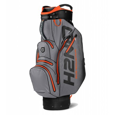SunMountain H2NO lite cart bag black/gray/blaze orange