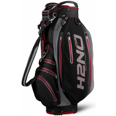 SunMountain H2NO Elite cart bag black/red/charcoal
