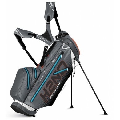 SunMountain H2NO lite stand white/gunmetal/orange/ice blue