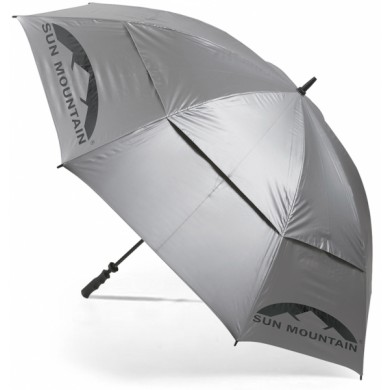 Sun Mountain UV Canopy Umbrella Silver
