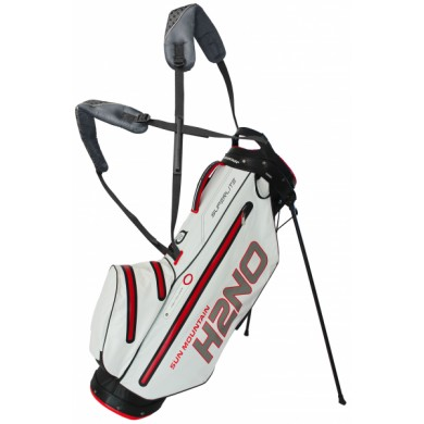 SunMountain H2NO superlite stand bag black/white/red