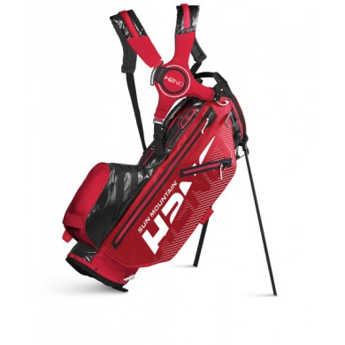 Sun Mountain 2020 H2NO lite 14W Stand Bag RED-BLACK