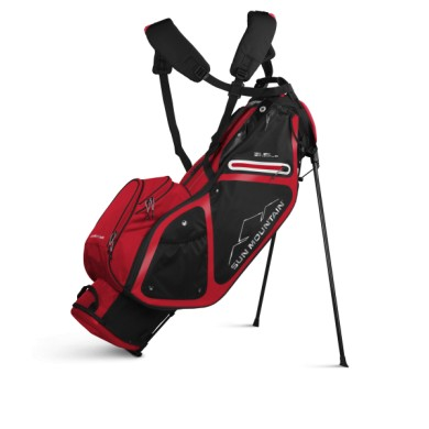 Sun Mountain 2020 Three 5 LS Stand Bag BLACK-RED