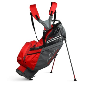 Sun Mountain 2020 Four-5 LS 14-WAY Stand Bag  CARBON-RED