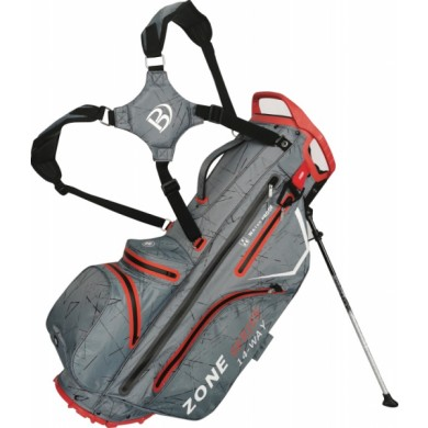 Bennington Stand bag ZONE Waterproof Canon Grey Flash  / Red