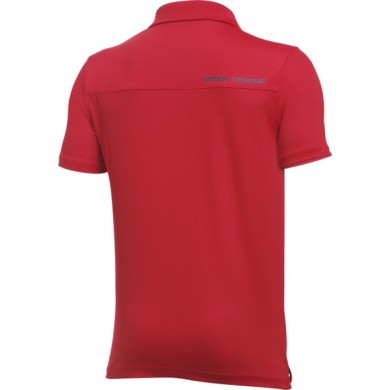 Under Armour dětské triko s límečkemPerformance Polo Red, L
