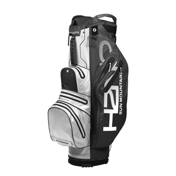 Sun Mountain 2019 H2NO LITE Cart bag BLACK-WHITE